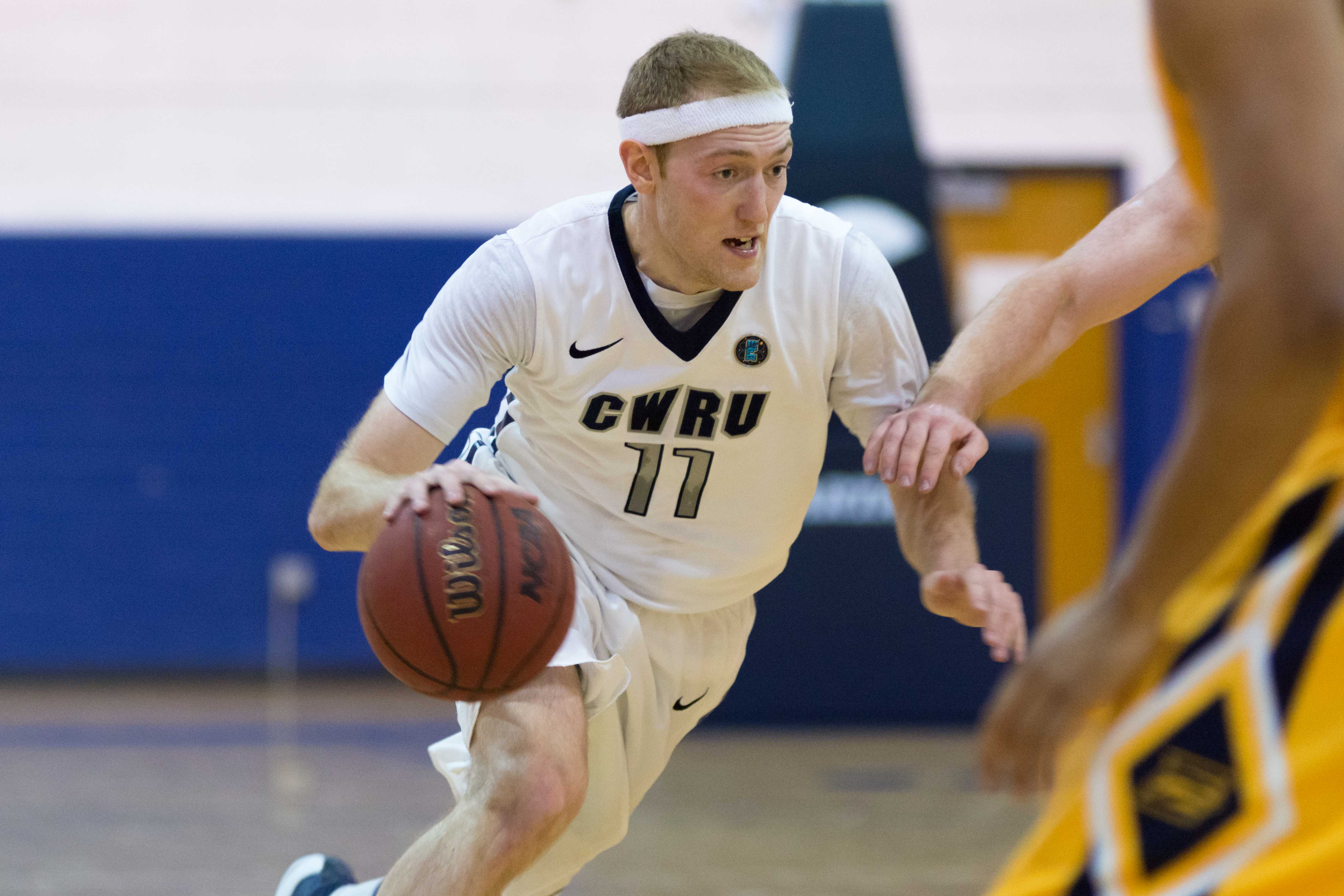 Fourth year Matt Clark's career game helped beat Emory in his last home game