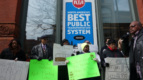 Cleveland rally responds to proposed RTA changes