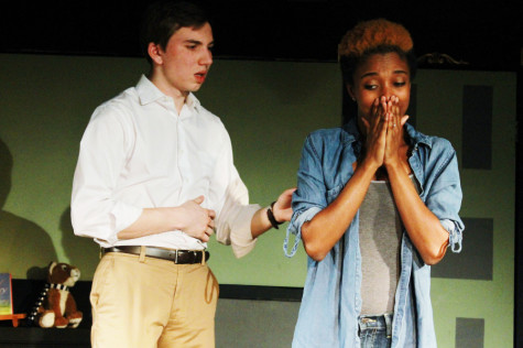 Students directed and performed in this emotional play about loss and forgiveness.