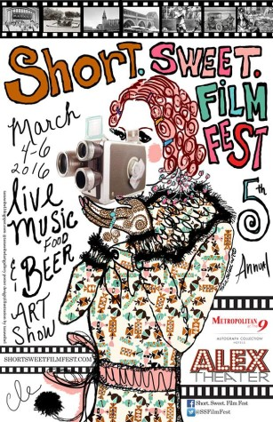 The festival presented short films from filmmakers around the world, including a CWRU student.