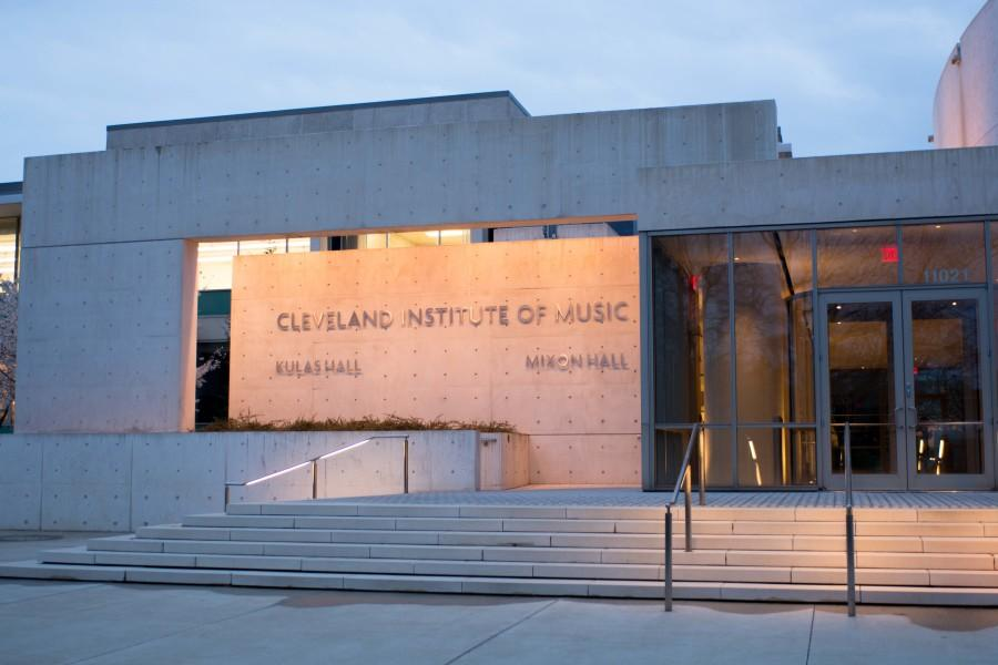 The Cleveland Institute of Music building. CIM and CWRU students can gain much from one another, including the concerts and clubs they respectively offer.