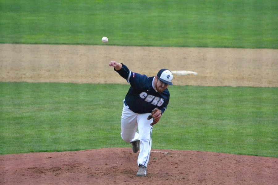 Connor Tagg's dominate pitching helped the Spartans remain undefeated at home.The Spartans have remained hot despite cold weather cancelling mid-week games.