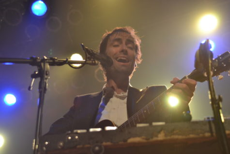 Andrew Bird performed a sold-out and emotional show at the Cleveland House of Blues.
