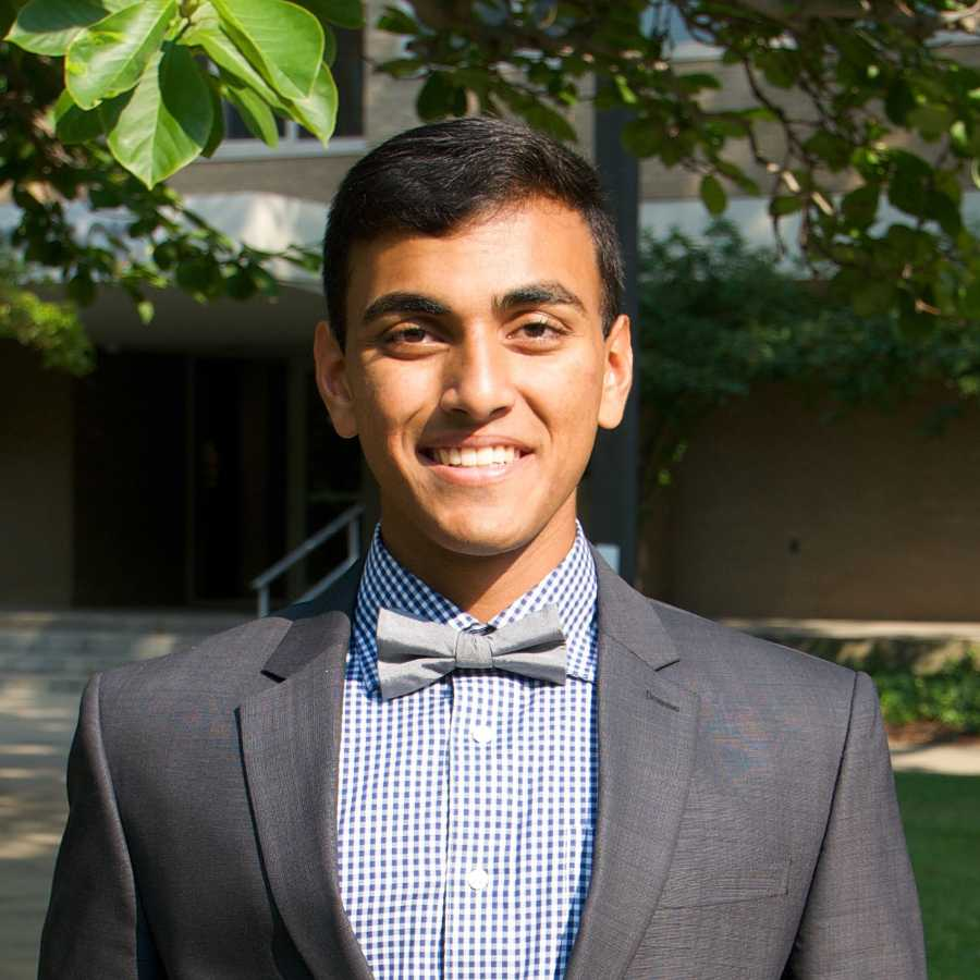 Prince Ghosh (VP of Academic Affairs)