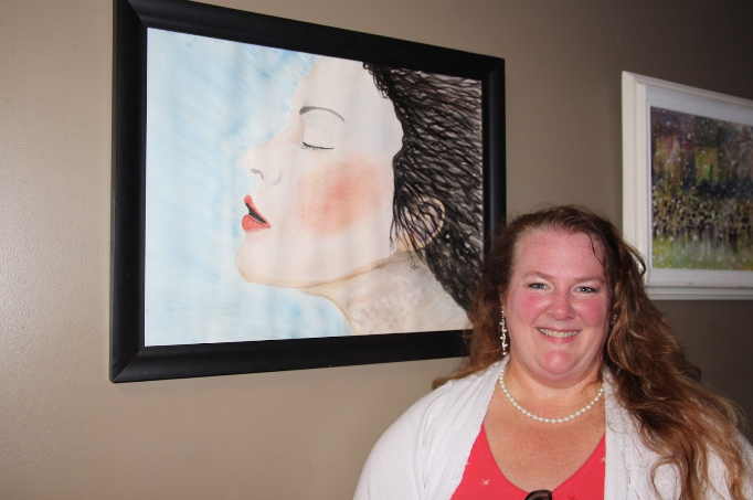 Jodi Balducci, a featured artist in the exhibition
