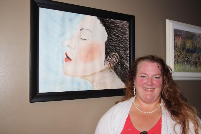 Jodi Balducci, a featured artist in the exhibition