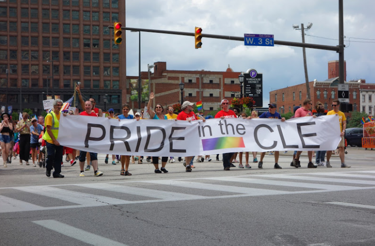 Instead of Cleveland Pride, The LGBT Center stepped in to host Pride in the CLE later in the summer.