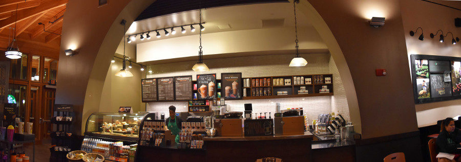 The Village Starbucks underwent renovations this May.