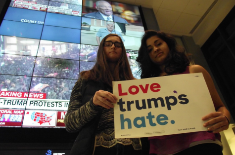 After the election result came out on Tuesday, Nov. 8, students shared mixed reactions about the impact a Trump presidency will have on their daily lives, and on the future of the country.