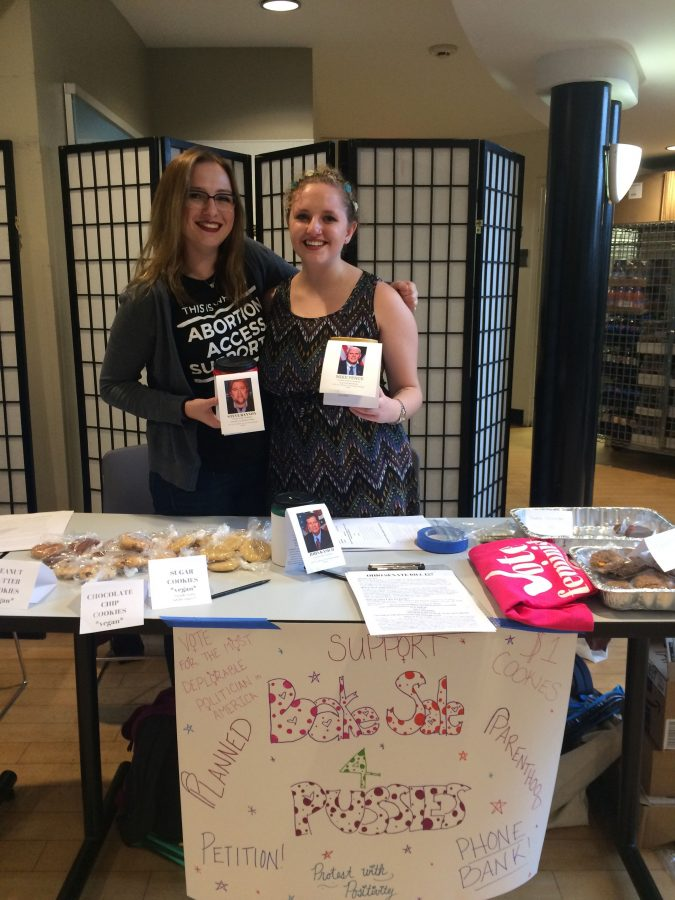 The Feminist Collective at CWRU recently hosted a bake sale to raise money in support of Planned Parenthood. The money collected will be donated on behalf of Vice President-elect Mike Pence.