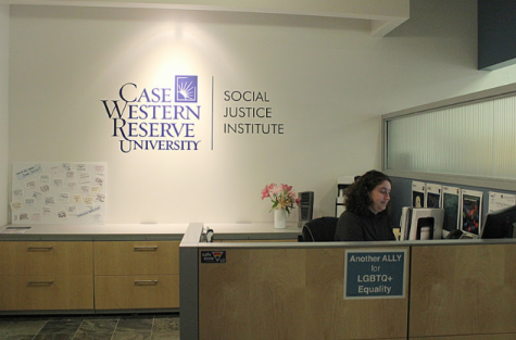 The Social Justice Institute is located in the basement of Crawford Hall.