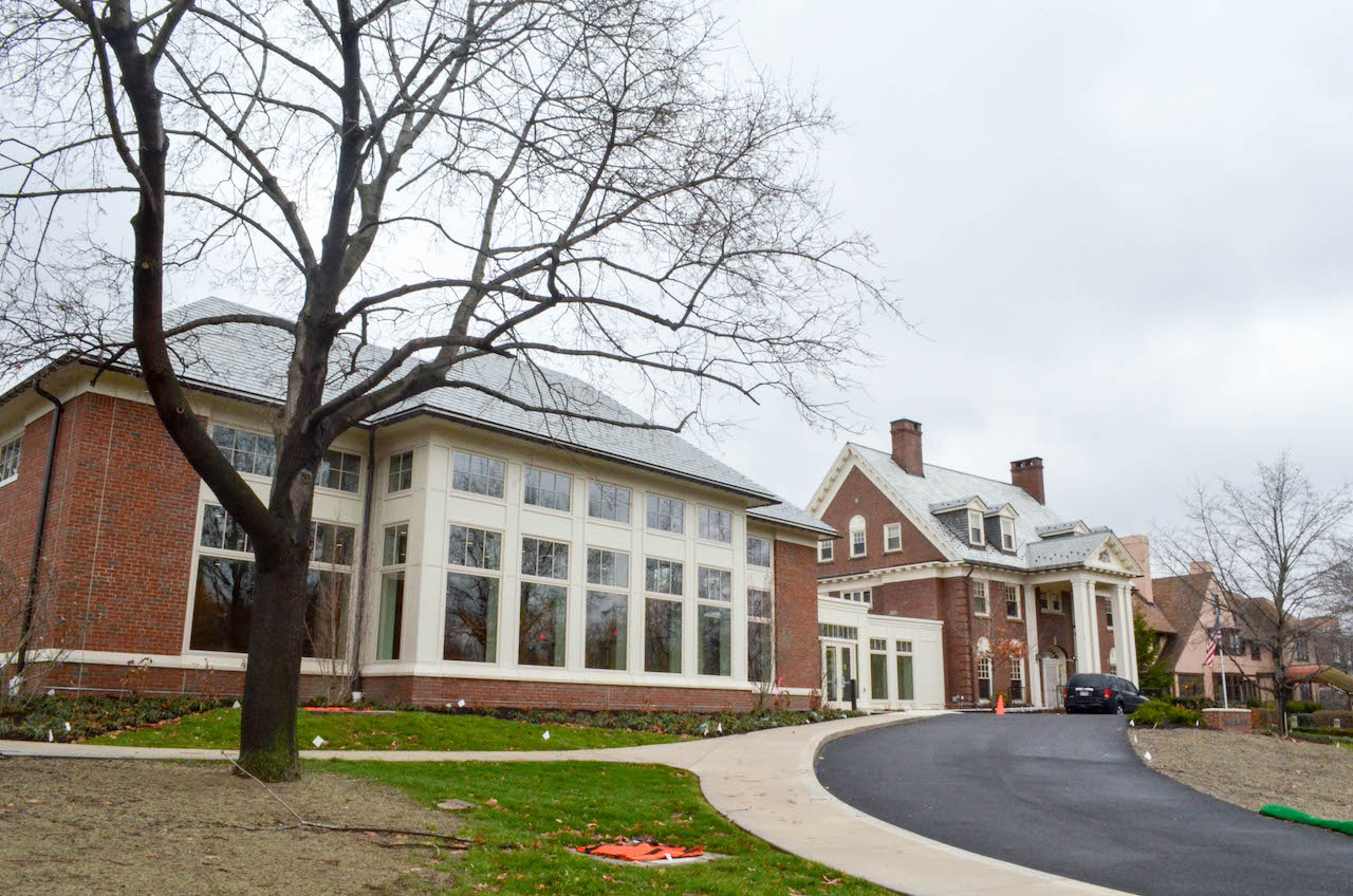 The construction projects for the west wing of Clark Hall and for the Foster-Castele Great Hall were completed over winter break. The front entrance to Clark Hall is expected to be open at the end of May.