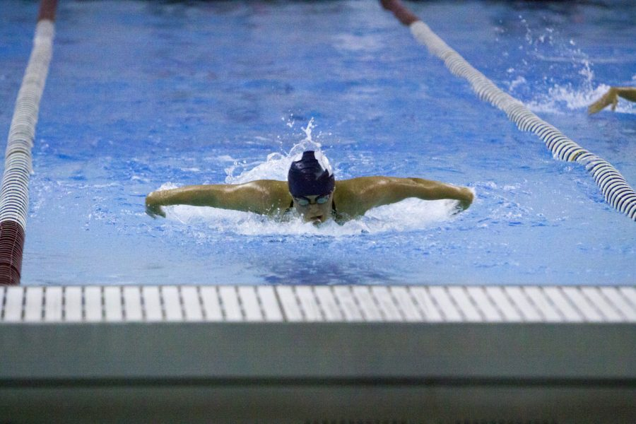 Both the men's and women's swimming and diving teams dominated Baldwin Wallace University in their final tune-up before the UAA Championship meet on Feb. 8-11.