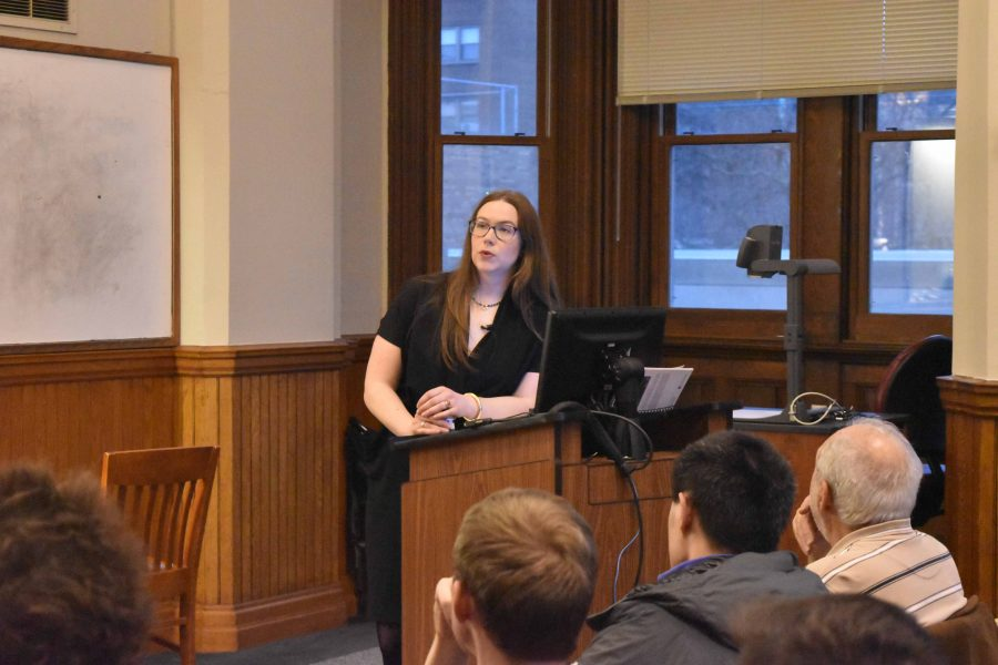 Clare Malone, a FiveThirtyEight.com reporter, returned to her hometown of Cleveland earlier this month and visited CWRU. Malone spoke to students and community members about  the Trump presidency and the role of media in current political enviornment.