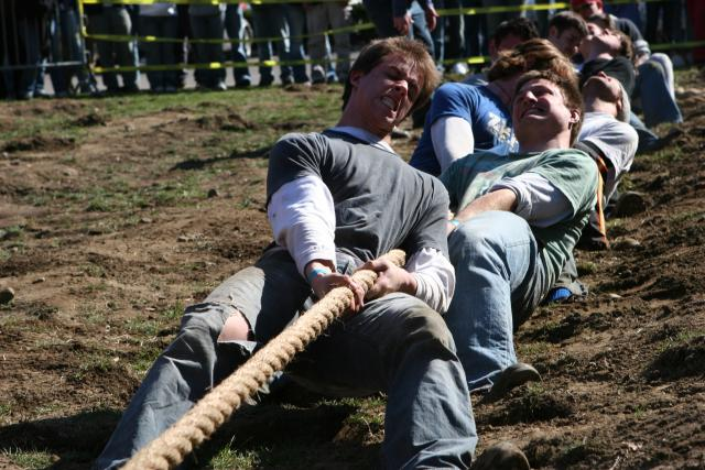 The Observer predicts Delta Gamma and Phi Delta Theta will win the always intense rope pull competition this year.