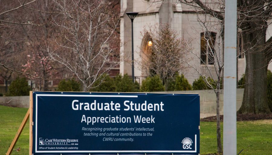 Graduate Student Appreciation Week features a series networking events that provide graduate students to relax and socialize with their peers.
