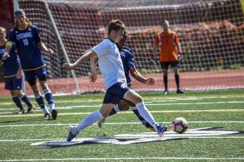 The Spartans upset Lycoming College, one of the best teams in the country, at DiSanto Field.