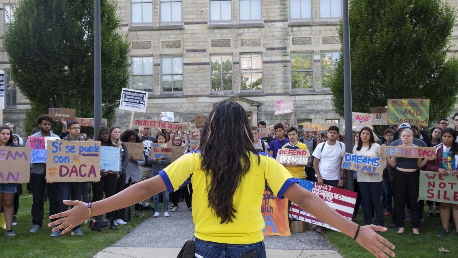 The DACA program, providing legal resience to undocumented immigrant youth for up to two years, was repealed earlier this week. CWRU administration has come out in support of DACA.