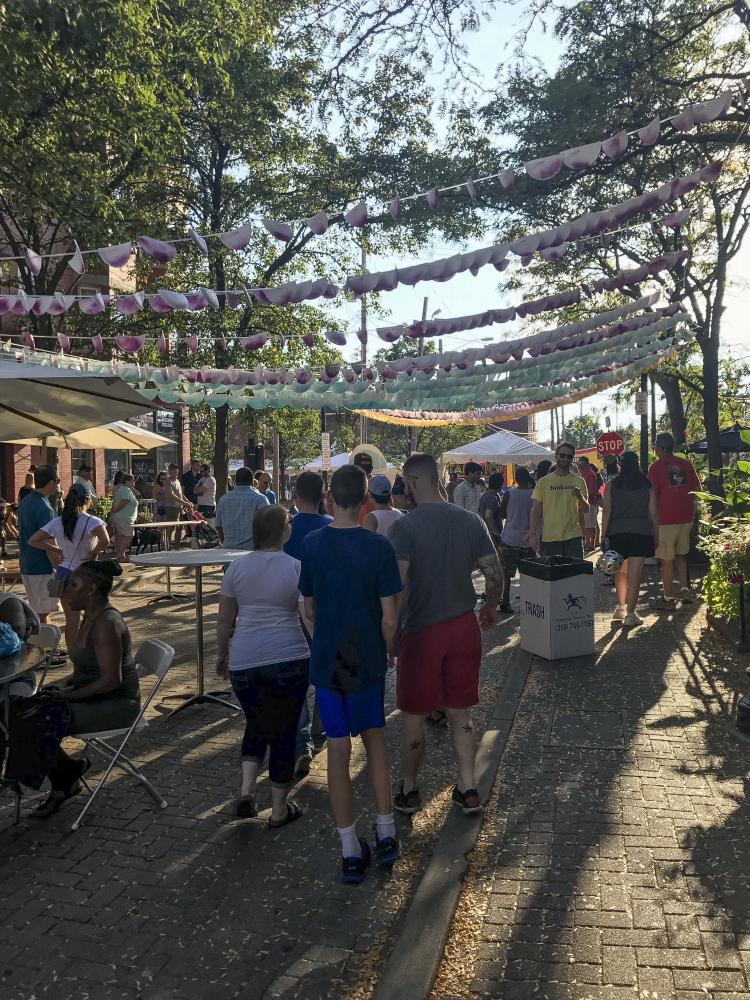 The Ohio City Street Festival gives a chance for the neighborhood to showcase its talents.