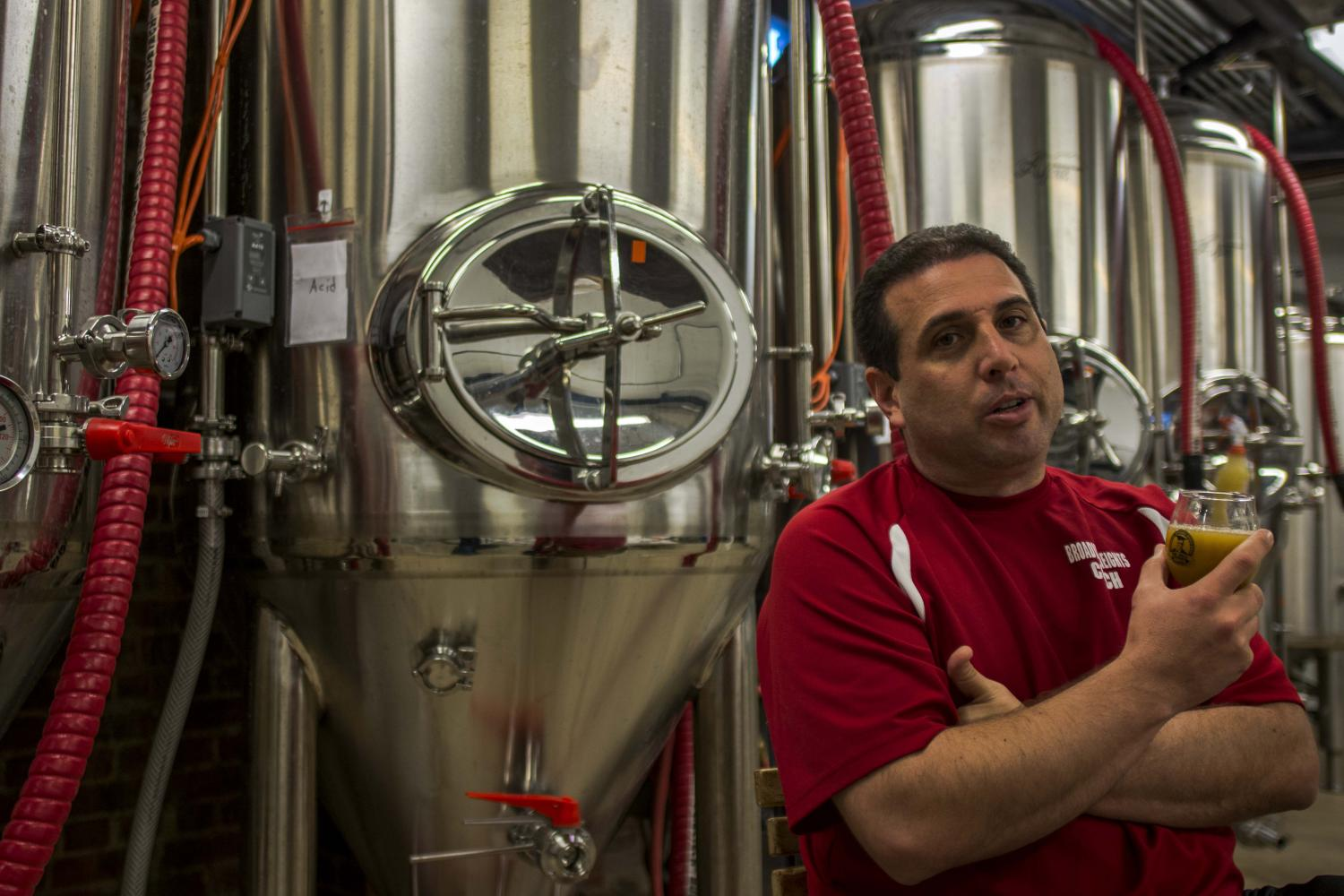 The Jolly Scholar celebrated the opening of its brewery project from Sept. 8-10.