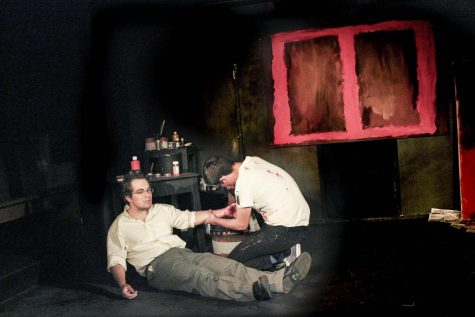 Two-man show wows in the Black Box