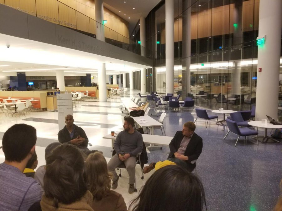 Case+Democrats+hosted+three+sucessful+members+of+the+political+science+field+in+TVUC+on+Friday%2C+Nov.+10.+The+speakers+discussed+the+current+political+climate+and+took+questions+from+students.