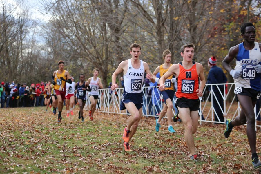 Fourth-year+runner+Sam+Merriman+earned+All-America+status+for+the+second+conseutive+year+with+his+finish+at+the+national+cross+country+meet.