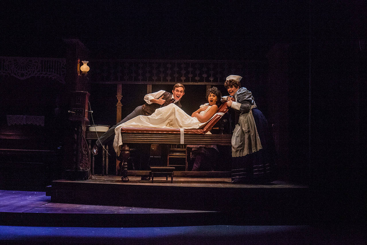 """Despite its raunchy dialogue, """"In the Next Room (or the Vibrator Play)"""" emotionally resonated with a very engaged audience."""