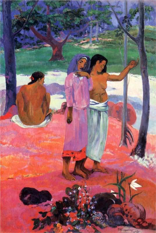 The+meaning+of+Paul+Gauguin%27s+%22The+Call%22+changes+entirely+when+given+historical+context.+Museum+wall+text+can+stimulate+discussion%2C+but+may+leave+out+important+information.
