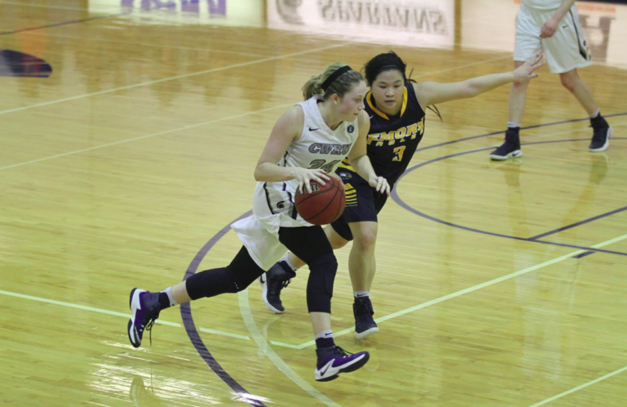 The women's basketball team defeated the College of Wooster in a home game on Dec. 2.