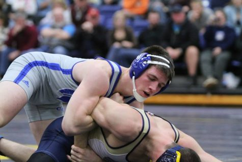 Despite a set back during break, the wrestling team turned in solid performances.