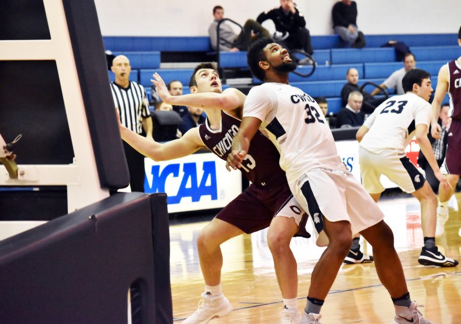 Dominating on both sides of the ball, the Spartans came away with a comeback victory over the University of Chicago on Jan. 21.