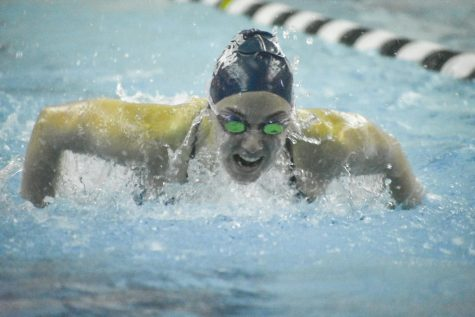Spartan swimmers and divers kick past competition