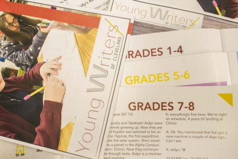 After just over one year of publication, the magazine showcasing writing from children, Young Writers of Cleveland (YWC), has expanded its distribution from two locations and 600 copies to over 35 locations and 1,600 copies. The magazine's newest recipients include pediatric centers in University Hospitals (UH) and the Cleveland Clinic.