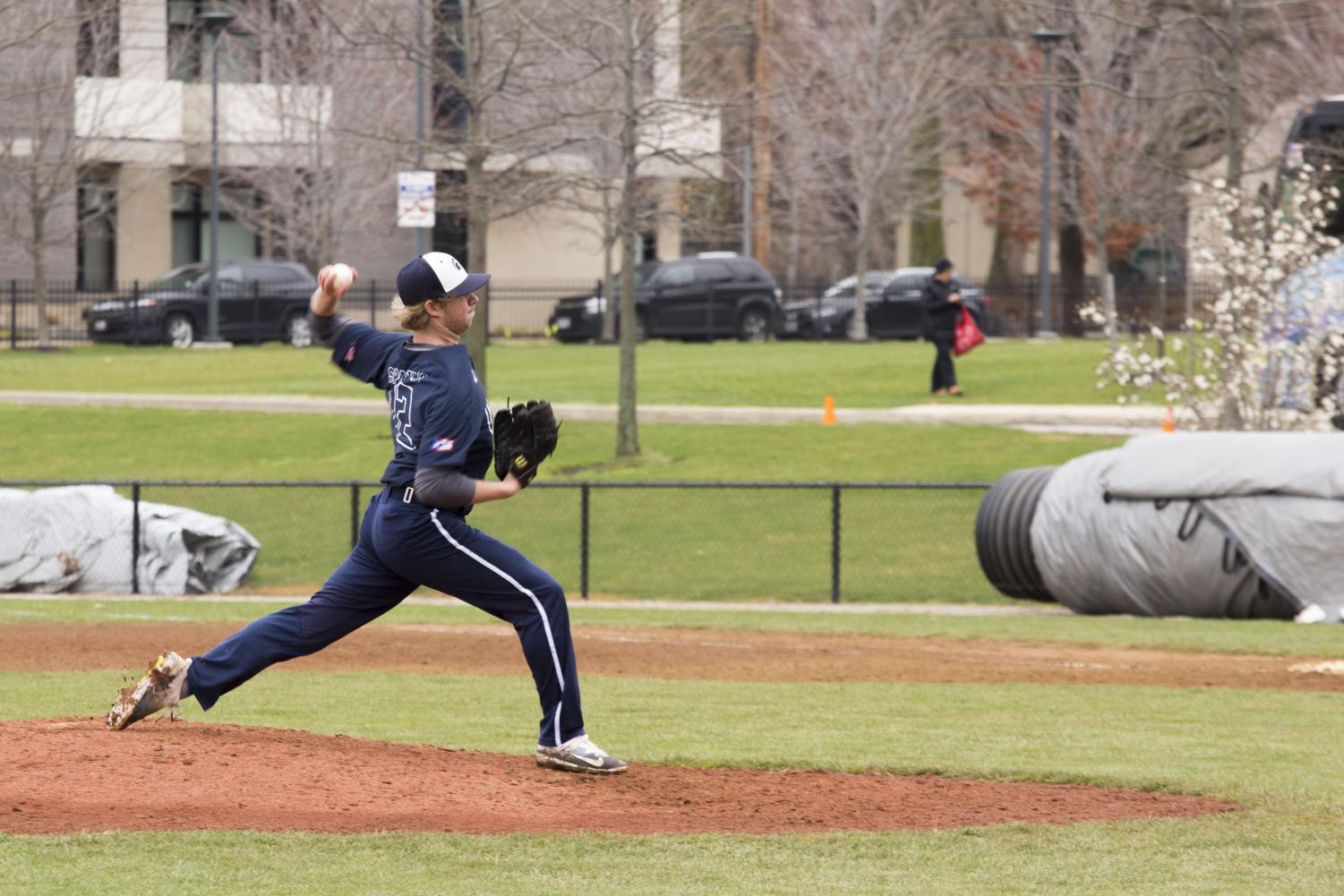 The baseball team is currently ranked No. 18 in Division III after a hot 10-1 start. During this span, the team defeated two top five teams in the nation.