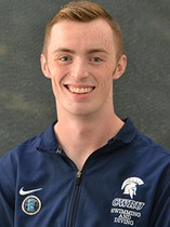 Fourth-year swimmer Drew Hamilton has participated in four NCAA Division III championships. Hamilton won the Elite 90 award for his performance in the pool and in the classroom.