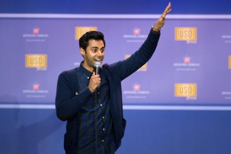 The Daily Show comedian Hasan Minhaj performed at Severance Hall on Friday as one of the University Program Board (UPB)'s spring comedians.