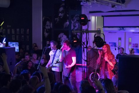 UPBeats: The Mowglis took over the Jolly Scholar on April 30 and was well attended, with about 500 students.