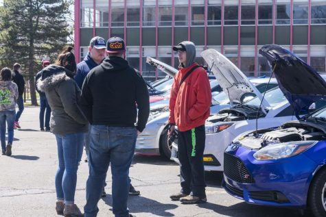 Case Western Reserve University's Car Club hosted its second annual Car Show, featuring vehicles from a variety of makers as well as student-owned cars.