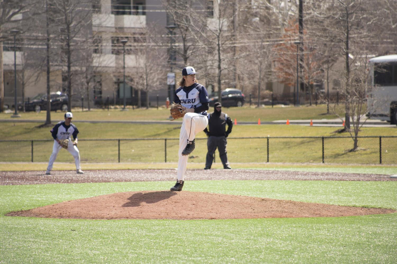 With a perfect mix of scoring and lights-out pitching, the baseball team has been exceeding expectations, garnering a No. 13 ranking in Division III.