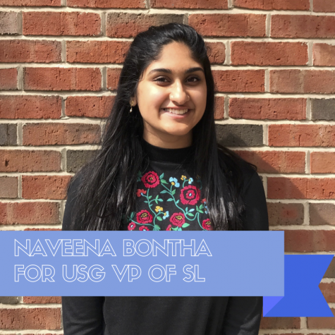 USG Election Guide 2018: Naveena Bontha