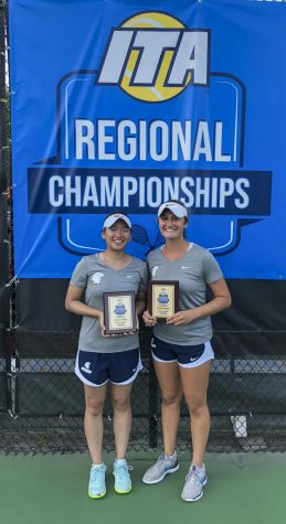 Tennis duo goes down in record books