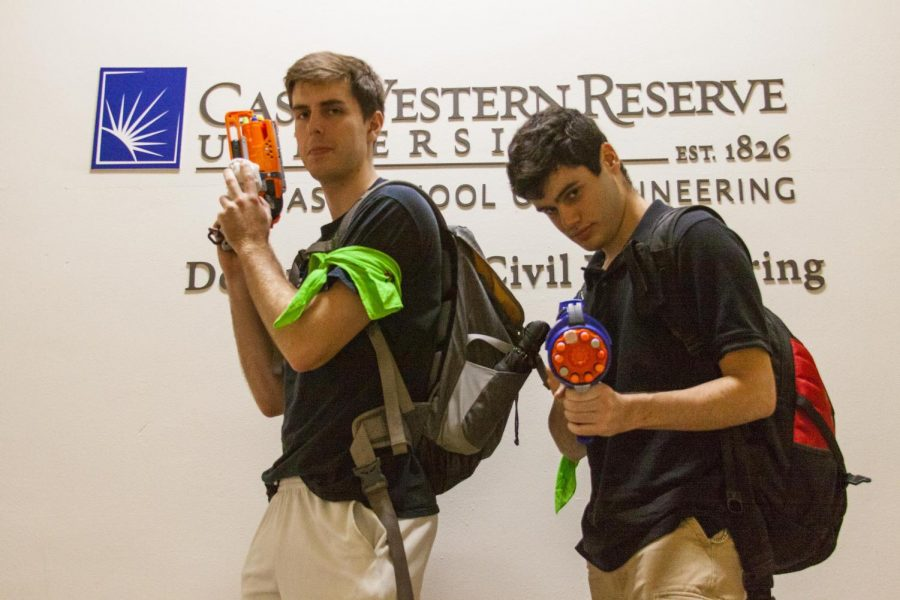 Socks, NERF blasters and tag... oh my!