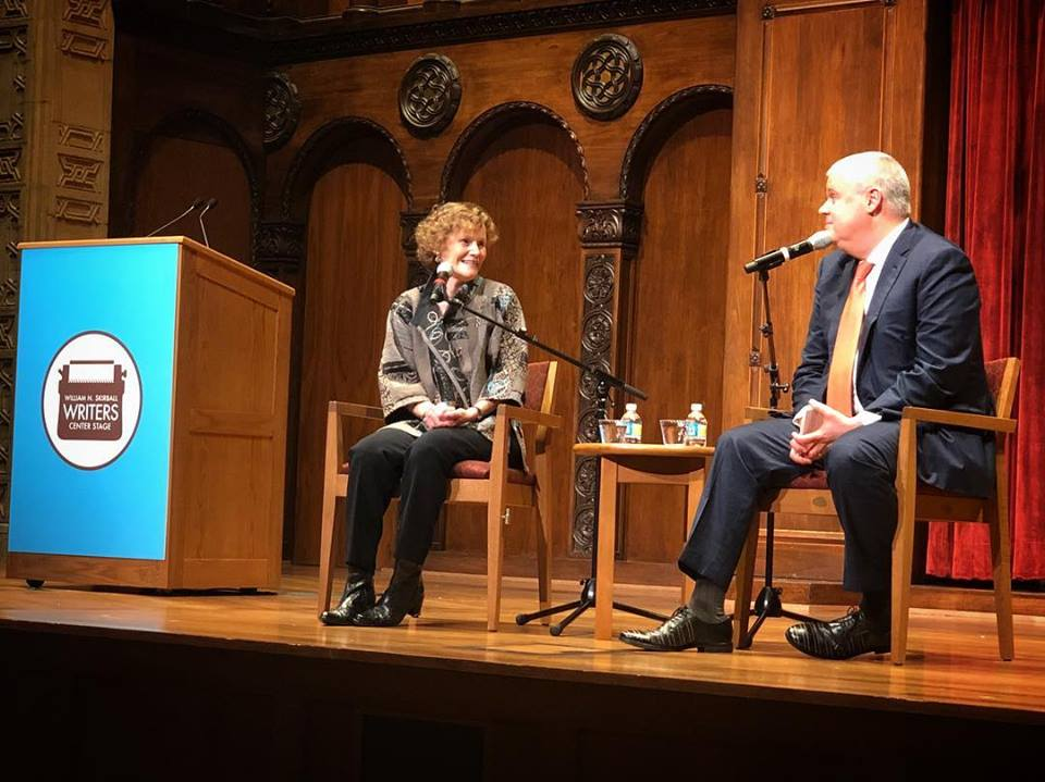 Judy Blume and Daniel Handler at the Milton and Tamar Maltz Performing Arts Center