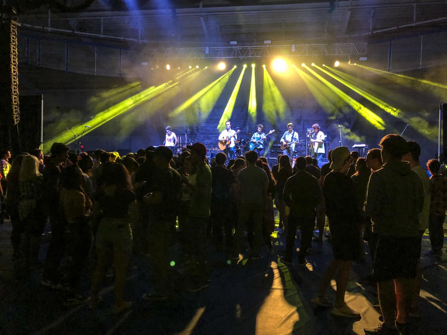 CWRU students enjoyed the Fall Concert on Saturday, Sept. 29, featuring Smallpools and Misterwives.