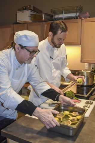 Chef duo from Edwins Restaurant visits campus