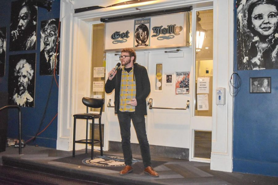 Jolly Comedy Hour brings stand-up comedy to campus