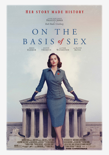 """On the Basis of Sex"" portrays Supreme Court justice's early career"