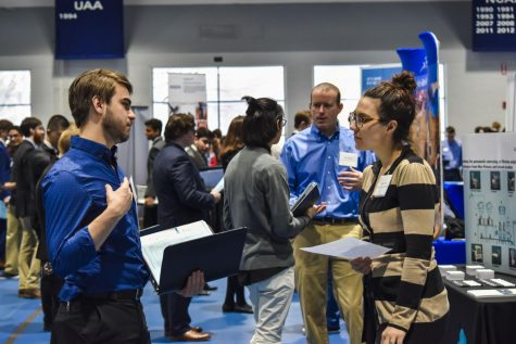 Spring career fair features many new employers