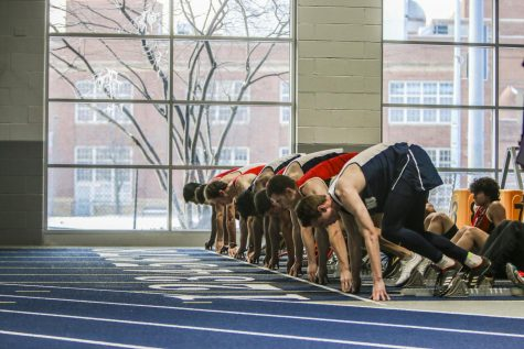 The track and field teams fell to Carnegie Mellon University at the 11th-annual Battle for the Obelisk. Spartan highlights include two first place titles and meet records by graduate student Cassandra Laios.